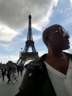 Eiffle Tower in Paris, France