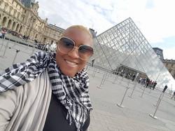 The Louvre in Paris, France