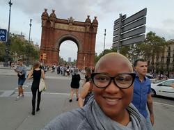 Arc de Triomf in Barcelona, Spain