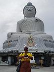 ashawna lane thailand phuket big buddha tourist tourism travel asia solo adventure woman international marketing content digital course class youtube