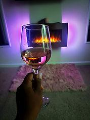 ashawna lane fireplace electric amazon a