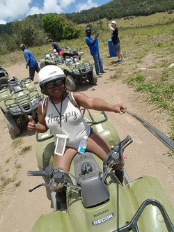 ATV in St. Kitts