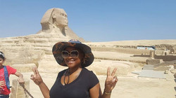 Sphinx in Cairo, Egypt