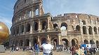 ashawna lane europe rome colosseum italy travel blog website blogger blogging international traveler content creation creator