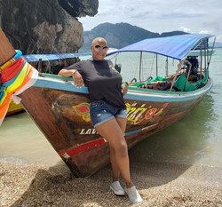 Boat fun at James Bond Island, Thailand