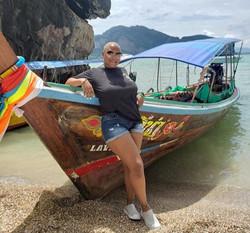 Boat fun at James Bond Island, Thailand