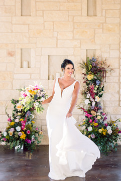 Color Block Styled Shoot