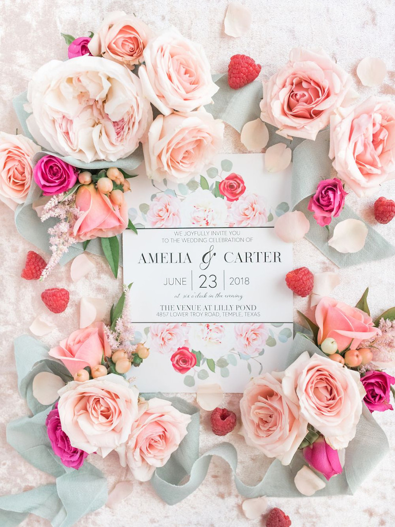blush wedding invitations _ invitation s
