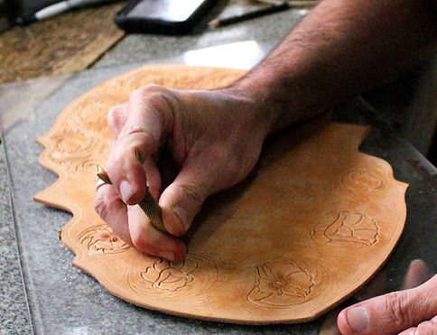 Wayne Wise - Leather Carving