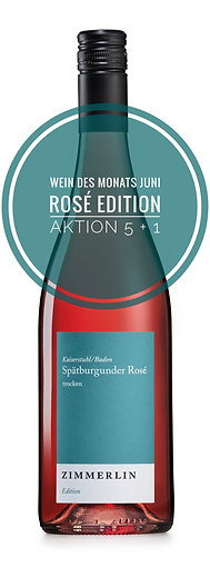 Aktion 5 + 1 Rosé trocken Edition