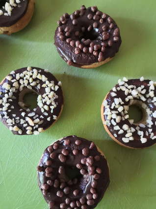 Donuts fit con chocolate