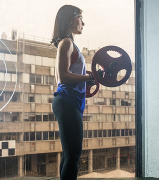 Escogiendo el peso para entrenar