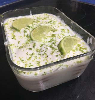 Marquesa de limón ligera