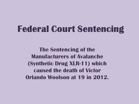 Federal Court Sentencing