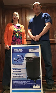 Healthway Air Purifier Donation