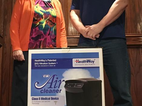 Healthway Air Purifier Donation