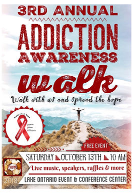 Recovery Celebration at this year's Addiction Awareness Walk Event