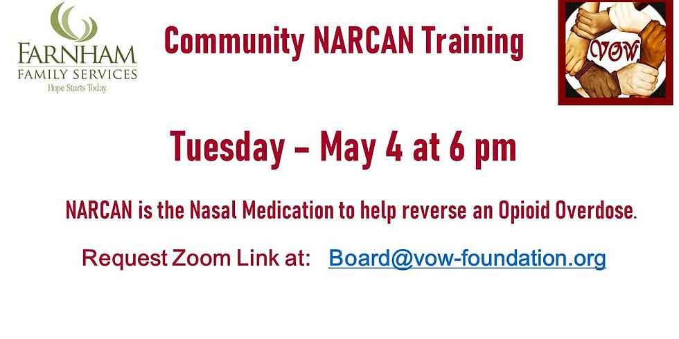 NARCAN Training 5/4