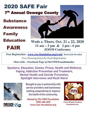 SAFE Fair is Live Online in October