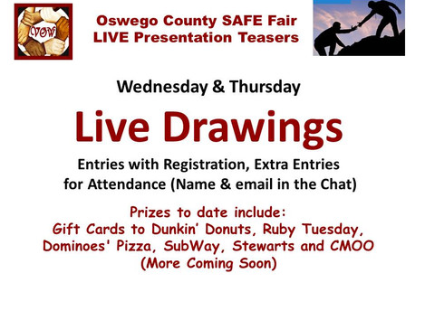 Prizes for the SAFE Fair