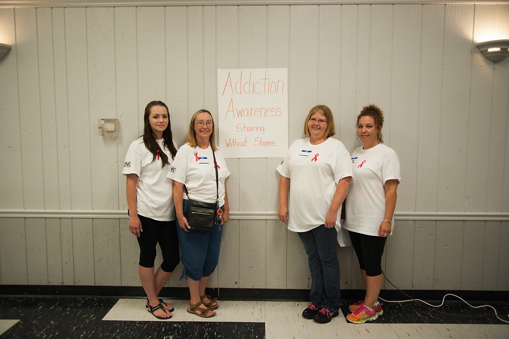 Event Organizers:  Meggan Gauger, Teresa Woolson, Cori Welch and Amy Pelow.  Missing from the Photo is Robin Burdick.