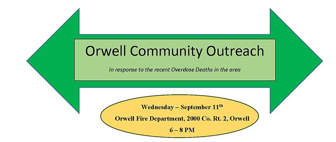 Orwell Community Outreach Event