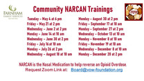 Community Help = NARCAN Training