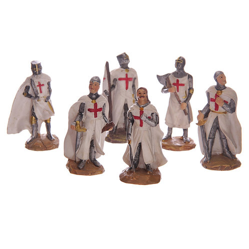 Novelty Gift Fantasy Mini Collectable Knight Figurines