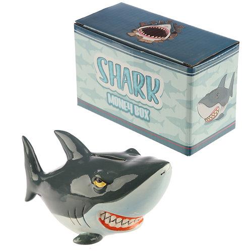 Novelty Ceramic Shark Money Box Novelty Gift