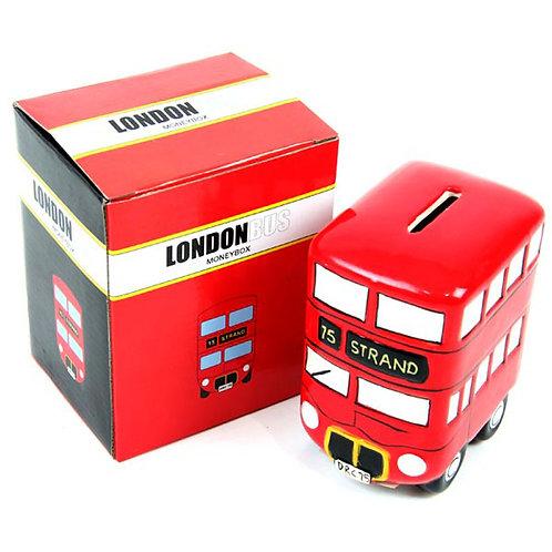 Fun Novelty Ceramic Red Routemaster Bus Money Box Novelty Gift