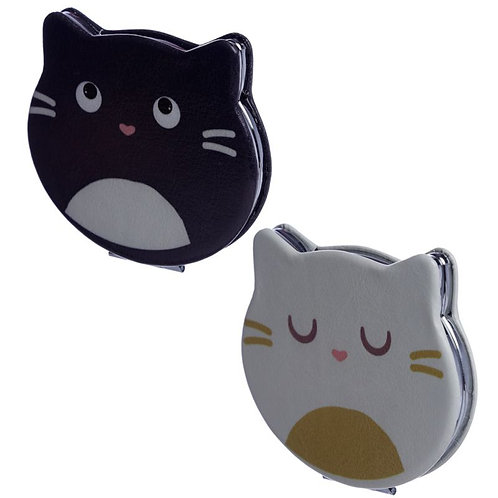 Fun Collectable Feline Fine Cat Compact Mirror [ONE ONLY] Novelty Gift