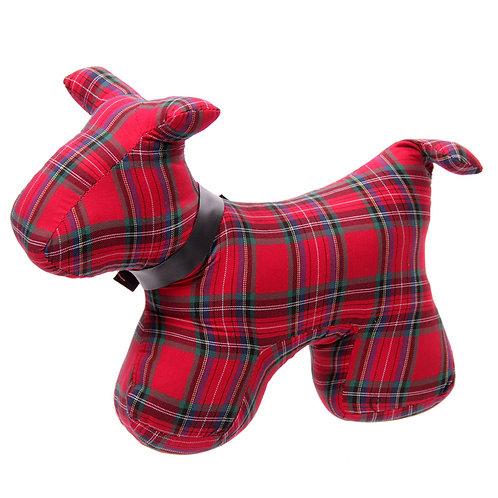 Polyester Door Stop - Tartan Scottie Dog Novelty Gift
