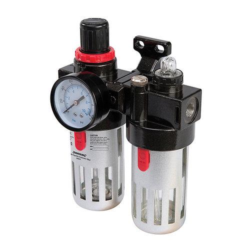 Silverline Air Filter Regulator & Lubricator | DIY Bargains