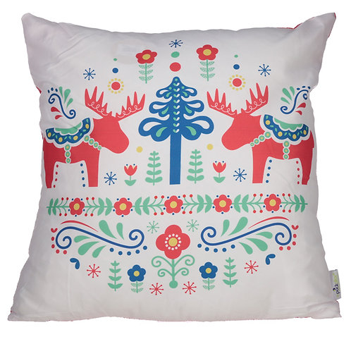 Cushion with Insert - Scandi Design 50 x 50cm Novelty Gift