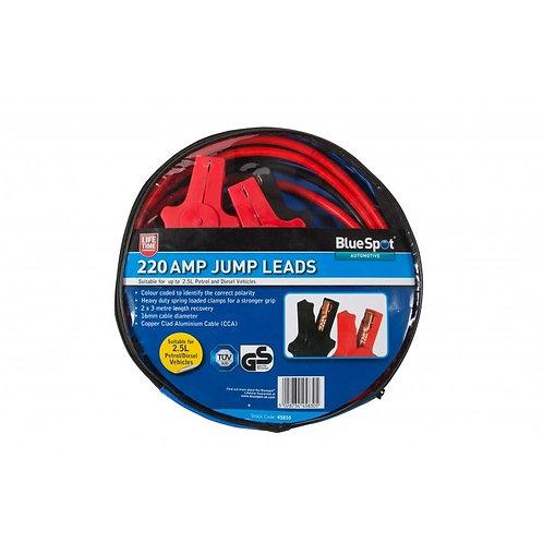 BlueSpot 220 Amp Jump Leads | DIY Bargains