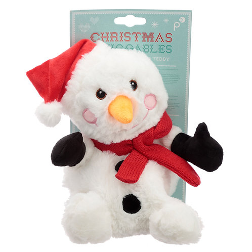 Christmas Snowman Microwavable Heat Wheat Pack Novelty Gift