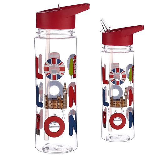Reusable London Icons 550ml Bottle Novelty Gift