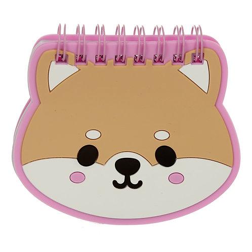 Cutiemals Pet Shaped PVC Notepad Novelty Gift