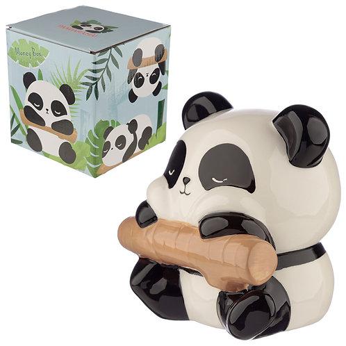 Collectable Ceramic Panda Money Box Novelty Gift