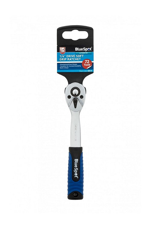 "Blue Spot 1/4"" Soft Grip Ratchet   DIY Bargains"