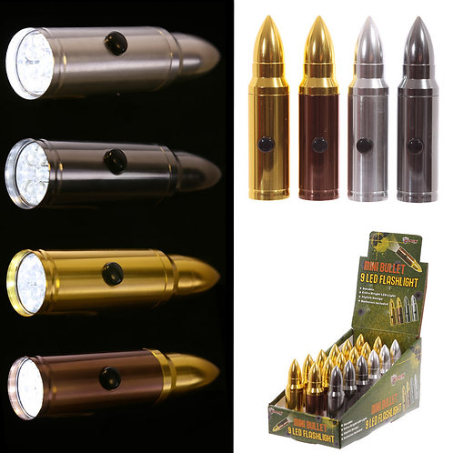 Novelty Gift  Bullet LED Torch