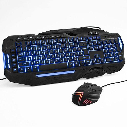 TEK-7000 Computer Gaming Keyboard and Mouse Set | Home Essentials UK