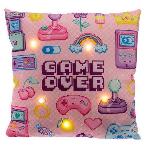 Decorative LED Cushion - Retro Gaming Next Gen Novelty Gift