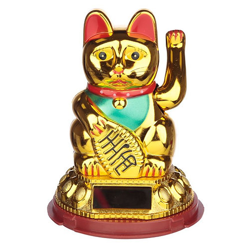 Collectable Waving Lucky Cat Powered Pal Novelty Gift