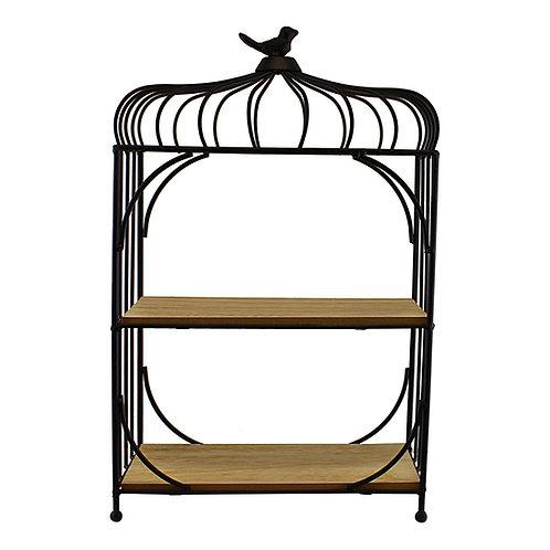 Freestanding Bird Cage Design Shelving Unit Shipping furniture UK