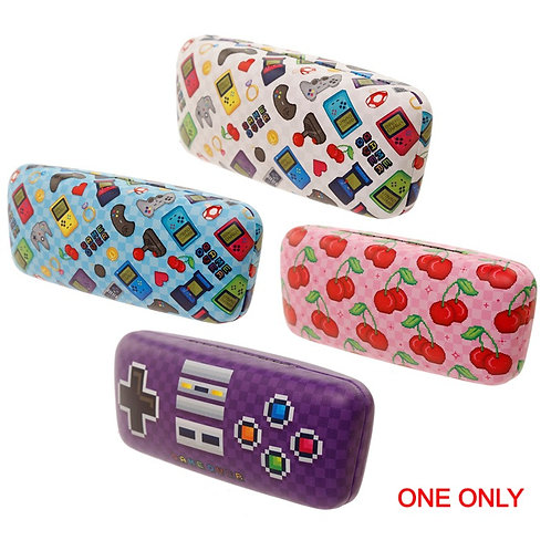 Fun Retro Gaming Game Over Sunglasses Case Novelty Gift