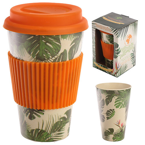 Bamboo Composite Cheese Plant Travel Mug Novelty Gift