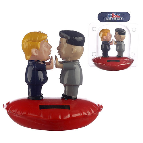 Collectable Love Not War Presidents Solar Powered Pal Novelty Gift