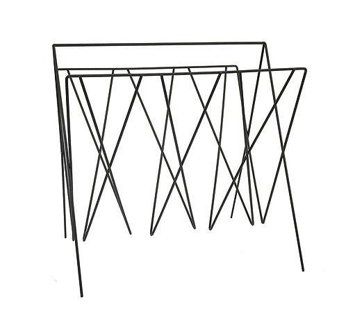Black Wire Magazine Rack Shipping furniture UK