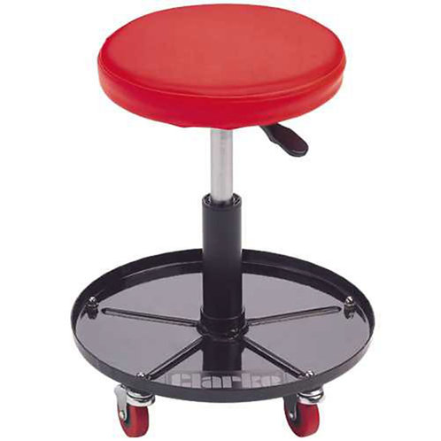 Clarke CMS2 Height Adjustable Mechanics Seat | DIY Bargains